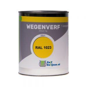 wegenverf-geel-ral-1023